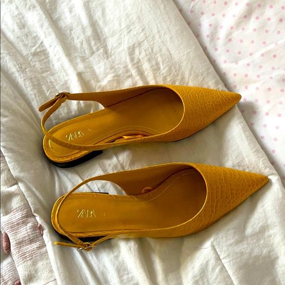 Zara Yellow Shoes